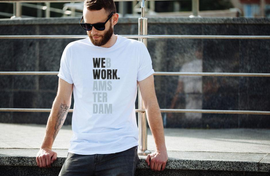 Interactief Web T-shirt voor de happy few